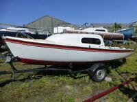 Westerly Nimrod Sailing Yacht / Motor Boat on Trailer