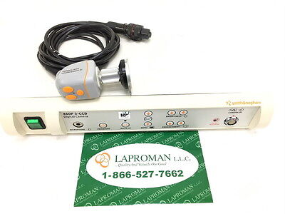 Dyonics 460p 3-ccd Console With 460h Camera Head And Coupler Endoscopy