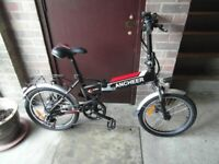 ( Brand New ) ELECTRIC - ANCHEER , E - Bike , 20 Inch Wheels, 250w Motor,36v,7 Speed Gears