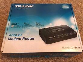 TP-LINK ADSL ADSL2+ Modem Router