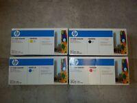 HP Color Laserjet Cartridge Toner, 4-Color Set of Toner Cartridges - Q6000A, Q6001A, Q6002A, Q6003A