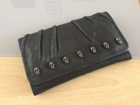 Skull Faux Leather Womens Purse