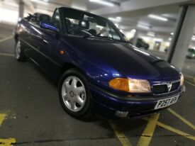 Vauxhall astra convertible very last of ASTRA mk3 retro classic car