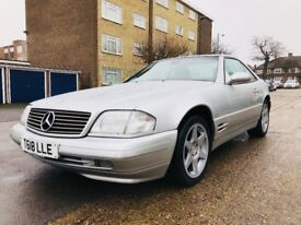 MERCEDES SL320 LIMITED EDITION 77k MILES