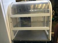 Display fridge table top