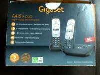 Bt cordless phone and gigaset cordless phone set