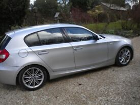 BMW 1 series 120D M Sport Eight recorded services