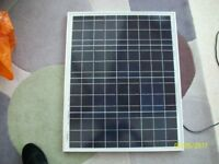 50 WATT SOLAR PANEL CHARGE CONTROLLER AND FITTINGS