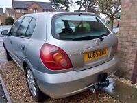 Nissan Almera 1.5 petrol 2005, 12 months mot