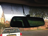 Dashcam + Rearcam install , drive careful and save your insurance price