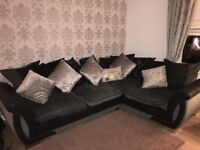1 year old sofa, immaculate condition, 3 year cover left.