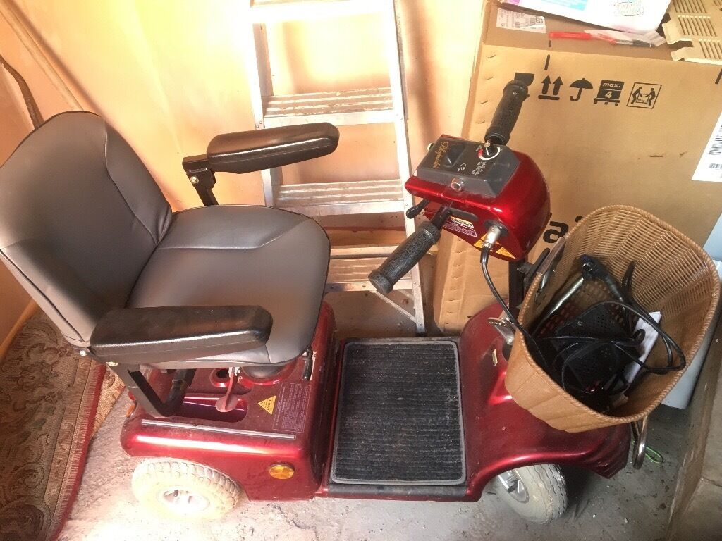 Barely used mobility scooter for elderly. Dad's sudden death caused the sale. In mint condition
