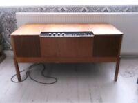HMV Radiogram - teak finish