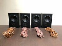 FOUR 70 WATTS AWARD WINNING LAUREATE SPEAKERS (BRAND FOCAL-JMLAB)