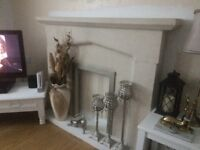SOLID STONE FIRE SURROUND