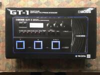 Boss GT-1 multi effects guitar pedal