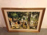 Renoir - La Grenouillere - The Frog Pond - Framed Painting
