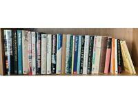 25 Novel Books Hardback & Paperback, Mainly Crime Novels