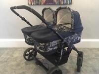AVAILABLE Freestyle Twins Double Pram