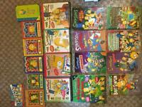 The Simpsons book / comic collection