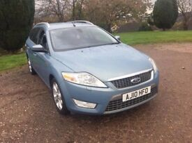 2010 (10) FORD MONDEO TITANIUM X TDCI 138 AUTOMATIC DIESEL FULL SERVICE HISTORY