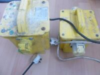 2 110 transformers very good condition good working order
