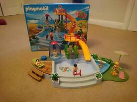 Playmobil swimming pool 4858