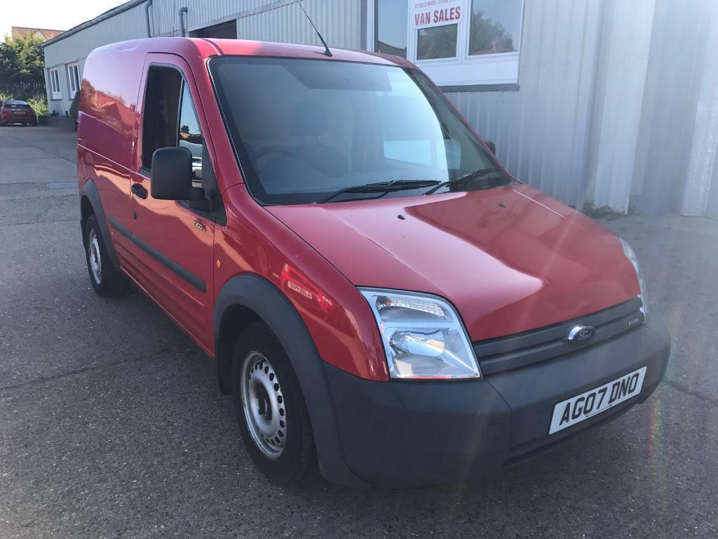 2007 Ford Transit Connnect 18 Tdci Company Direct One Owner From New