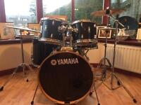 5-piece Yamaha Rydeen Drum kit with cymbals
