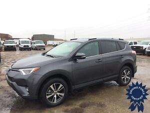 2016 Toyota RAV4 XLE, Cross-Traffic Alert, Blind Spot Monitoring Edmonton Edmonton Area image 1