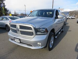 2013 Ram 1500 Sport - Heated and Cooled seats, Navigat