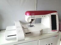 BROTHER INNOVIS NV5000 LAURA ASHLEY LTD EDT EMBROIDERY & SEWING MACHINE