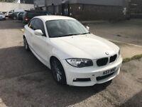 BMW 1 SERIES COUPE M SPORTS 2011 WHITE px 3 series 5 series a class, audi tt, a3 a4 a5