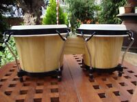 """Bongo Drums.( 16"""" x 7"""")."""