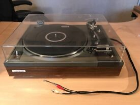 Classic Pioneer Hi-Fi Turntable PL115D. Shure M75ED Cartridge. A fantastic combination then and now.