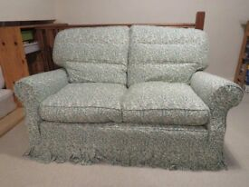 SOLID BEACHWOOD FRAME - 2 X 2 Seater Settees + 1 Chair – Happy to deliver free if purchaser = local