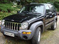 Jeep Cherokee 2.5 CRD sport 4x4