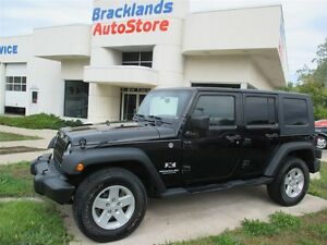 2008 Jeep Wrangler Unlimited X Two Tops