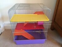 3 tier wire hamster cage