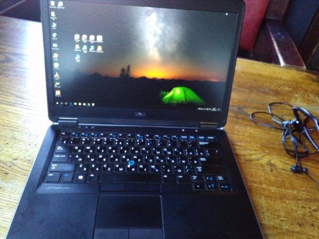 """Ultrabook Dell 7440, i5, 8GB RAM, 128GB SSD, 14"""" 1920x1080, backlit keyboard"""