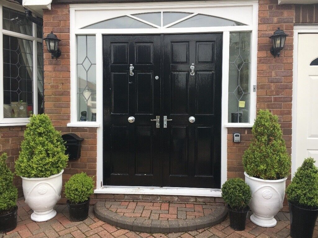 innovative design 710e9 7a2a3 External wooden double doors with furniture for sale | in Liverpool,  Merseyside | Gumtree