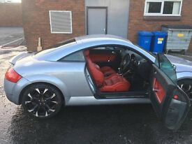 Audi TT (225 bam engine) For Sale, Red Leather Seats **plz read description**