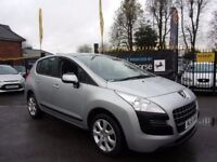 PEUGEOT 3008 1.6 HDi FAP Active SUV 5dr (silver) 2011