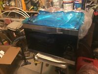 Integrated microwave oven (never used)