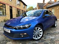 Volkswagen Scirocco 2.0 TSI GT 3dr£4,890 p/x welcome **ONLY 1 OWNER**FULL S/H* 2009 (58 reg), Coupe