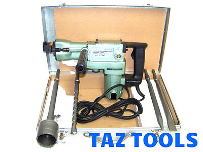 """ROTARY DEMOLITION  HAMMER DRILL 1-1/2""""  WITH CORE DRILL BIT HEAVY DUTY 2 IN 1"""