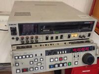 Sony Betacam SP BVW-75P VIDEO CASSETTE RECORDER