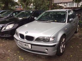 2002 BMW 318I SE 5 DOOR PETROL MANUAL