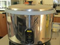 Electric Rice Cooker (used once) in perfect working order