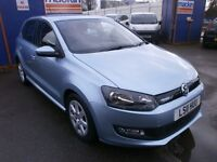 2011 VW POLO 1.2 DIESEL, 5DOOR, VERY CHEAP TAX £30 A YEAR, DRIVES VERY NICE, FULL SERVICE HISTORY